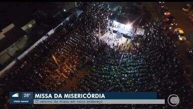Missa da Misericórdia acontece em novo local - Missa da Misericórdia acontece em novo local