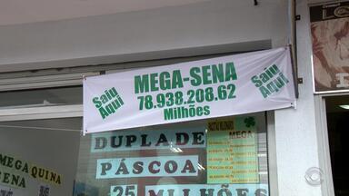 Ganhador do prêmio de R$ 78 milhões da Mega-Sena ainda não foi retirar o dinheiro - Especulações do que deve ter acontecido com o ganhador começaram entre os moradores de Gravataí.