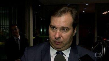 Pacote anticrime gera atrito entre Sérgio Moro e Rodrigo Maia - O presidente da Câmara disse que o ministro da Justiça copiou um projeto que já está na casa.