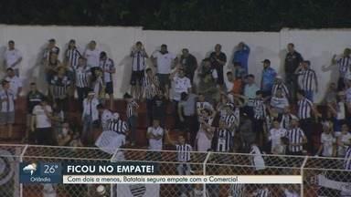 Batatais empata com Comercial na Série A3 - Jogo terminou em 1 a 1.