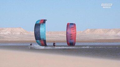 No Deserto de Marrocos