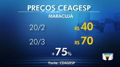Chuva das últimas semanas tem refletido no preço dos alimentos no Ceagesp - Levantamento foi pedido pelo Link Vanguarda.