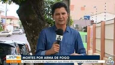 Sociedade brasileira de pediatria divulga estudo sobre mortes por armas de fogo no país - Cresceu o número de registros em que vítimas são crianças e adolescentes.