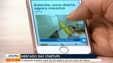 Mercado das Startups que desenvolvem produtos ou serviços inovadores - Amapaenses apostam nesse tipo de negócio que tem o apoio do Sebrae.
