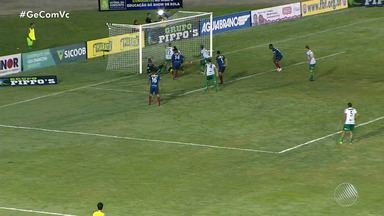 Vitória da Conquista empata com o Bahia de Feira na partida de ida da semifinal do Baianão - A partida aconteceu no Estádio Lomanto Júnior, em Vitória da Conquista.