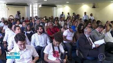 Plano Diretor do Recife é discutido em audiência pública na Câmara Municipal - Esta foi a primeira de uma série de seis audiências públicas para discussão do documento.
