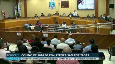 Câmara de Foz do Iguaçu rejeita contas de 2014 do ex-prefeito Reni Pereira - Decisão deixa ex-prefeito inelegível; contas de 2013 já estavam rejeitadas.