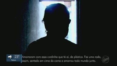 Família é feita refém após ter casa invadida por 3 assaltantes em Ribeirão Preto, SP - Ladrões amarraram cinco vítimas e as trancaram em um cômodo enquanto reviraram imóvel. Uma delas foi agredida. Ninguém foi preso.