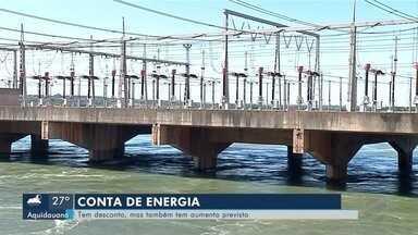 Conta de energia - Em abril tem desconto e aumento ao mesmo tempo.