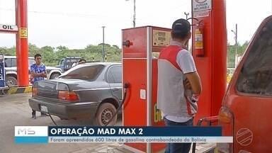 Contrabando de combustível - Operação prende contrabandistas em Corumbá.