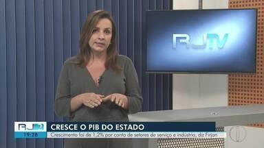 Firjan aponta crescimento de 1,2% no PIB do estado do Rio de Janeiro - Assista a seguir.