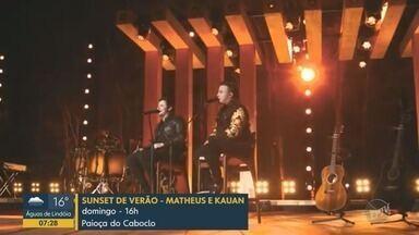 Em Cartaz: Confira a programação de lazer e cultura no fim de semana na região - São oportunidades de música, teatro e muito mais. Assista ao vídeo.