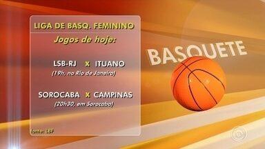 Dois times da região entram em quadra na rodada da Liga de Basquete Feminino - Nesta sexta-feira (22) tem rodada da Liga de Basquete Feminino com as duas equipes da região em quadra.