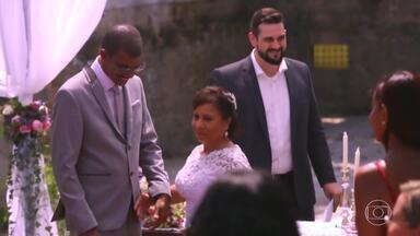 O Felizes para Sempre' realiza o sonho de Edson e Glorinha - A filha do casal escreveu para o Caldeirão para realizar o casamento dos pais