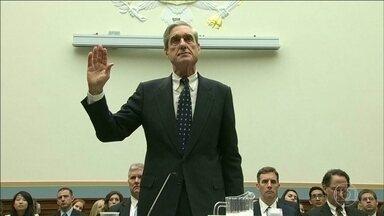 Entregue o relatório final sobre a possível interferência russa nas eleições dos EUA - Robert Mueller investigou o caso por 22 meses