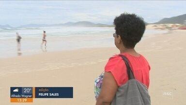 Moradores de Florianópolis visitam cartões-postais da cidade pela primeira vez - Moradores de Florianópolis visitam cartões-postais da cidade pela primeira vez