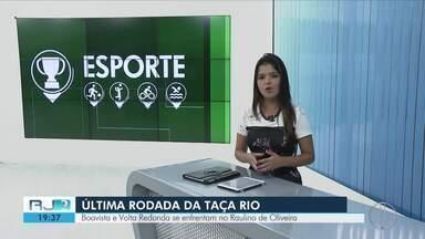 Boavista e Volta Redonda se enfrentam no Sul do Estado - Assista a seguir.
