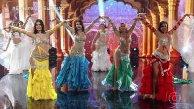 """O """"Engana Que Eu Gosto"""" apresenta a Dança do Ventre - São três dançarinas e uma amadora"""