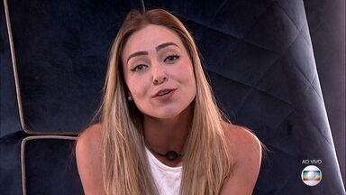 Paula defende permanência na casa - Paula defende permanência na casa