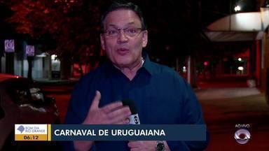 Cláudio Brito fala sobre escolas de samba campeões do carnaval de Uruguaiana - Confira o comentário.