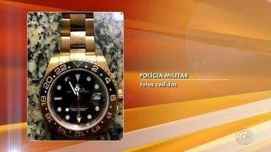 529ea1274e8 Polícia Civil prende homem suspeito de roubar relógios de luxo em Rio Preto