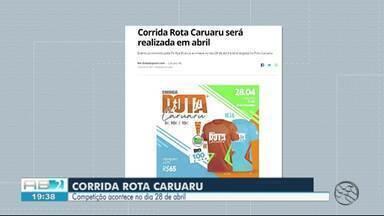 TV Asa Branca promove a Corrida Rota Caruaru - Prova é dividida em três percursos
