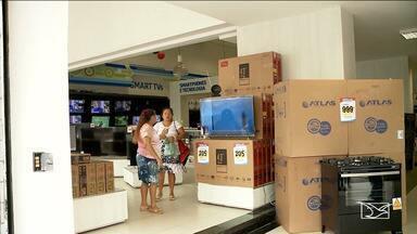 Empresários investem em vendas para Dia das Mães e Dia dos Namorados em Imperatriz - Campanha lançada pela Associação Comercial no município vai distribuir prêmios para os consumidores.
