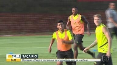 Semifinais a vista - Fla-Flu e Vasco x Bangu decidem quem vai para a final da Taça Rio no domingo.