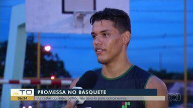 Promessa no basquete, Pedro Beltrão é sucesso na marcação de cestas - Promessa no basquete, Pedro Beltrão é sucesso na marcação de cestas