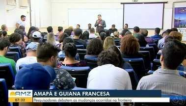 Pesquisadores da Guiana Francesa e do Amapá discutem sobre a fronteira - Tema do debate trata das mudanças ocorridas nos últimos anos.
