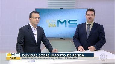 Vice-presidente do CRC-MS tira dúvidas sobre declaração do Imposto de Renda 2019 - Ruberlei Bulgarelli, vice-presidente Conselho Regional de Contabilidade, responde perguntas de telespectadores.