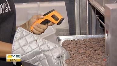 Faturamento de empresas que produzem chocolate deve subir 10% com a Páscoa - É o que aponta estudo da Federação das Indústrias de Mato Grosso do Sul (Fiems).