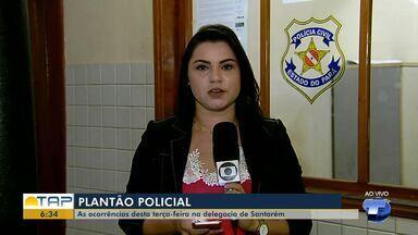 Veja o giro com as notícias da área policial desta terça-feira no Bom Dia Tapajós - Casos foram registrados na 16ª Seccional de Polícia Civil. Confira as principais notícias da área policial desta terça (26).