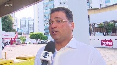 Presidente do Náutico, Edno Melo, revela ameaças de torcedores de organizada - Dirigente maior do Timbu disse que ia dar parte na polícia