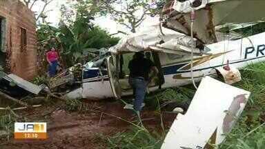 Empresa de avião que caiu em casa e causou uma morte, é condenada a pagar indenização - Empresa de avião que caiu em casa e causou uma morte, é condenada a pagar indenização