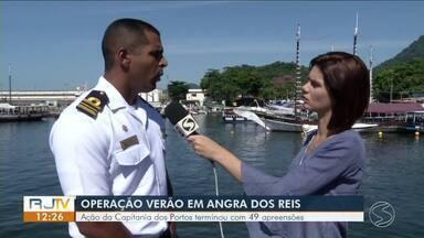 Ação da Capitania dos Portos termina com 49 apreensões - Ao todo, 5.361 embarcações foram abordadas.