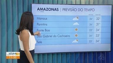 Confira a previsão do tempo para o Amazonas para esta terça-feira (26) - Karla Melo comenta.