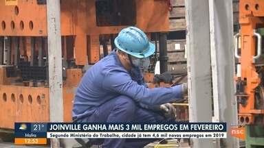 Saavedra: Joinville cria 3 mil vagas de emprego em fevereiro - Saavedra: Joinville cria 3 mil vagas de emprego em fevereiro