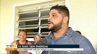12 dias sem serviços em posto de saúde - Outras informações no g1.com.br/ce