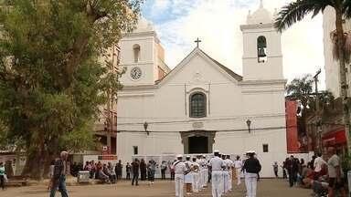 Começam as obras para a reforma da Catedral de São Pedro - O projeto foi aprovado por uma lei de incentivo a cultura e vai restaurar primeiro o telhado, danificado por cupins.