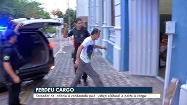 Vereador de Ladário condenado por compra de votos perde o cargo e suplente assume - Em Corumbá.