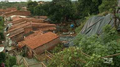 Cerca de 80 famílias estão em áreas consideradas de risco por conta das chuvas na capital - Defesa Civil afirma que a região do Sacavém é uma das mais afetadas pelas chuvas.