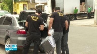 Polícia investiga fraude em licitações e corrupção e afasta secretário em Camaragibe - Contas do prefeito Demóstenes Meira (PTB) foram bloqueadas.