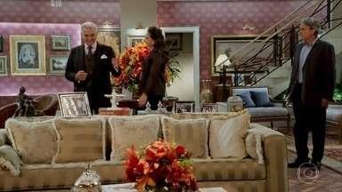 O Duque diz para demitir Jerônimo - Quinzão e Mercedes ficam espantados com o conselho do Duque