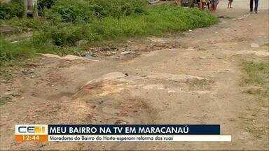 Meu Bairro na TV mostra situação dos moradores do Horto, em Maracanaú - outras informações no g1.com.br/ce