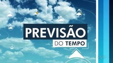 Quarta-feira (27) deve ter 6 mm de chuva em Londrina - Dia terá predomínio do sol e com temperatura alta.