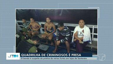 Presa em Óbidos parte de quadrilha suspeita de furtos em grandes lojas de Santarém - Dois suspeitos foram presos em Santarém na segunda-feira (25), e outros foram capturados em Óbidos.