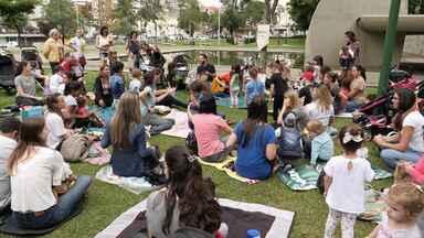 Parques e praças de Curitiba são ocupadas com música e alegria - Aniversário de Curitiba