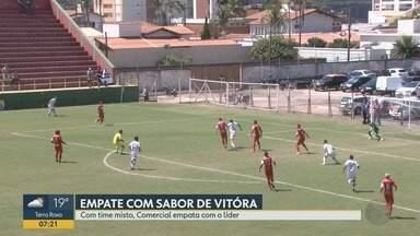 Comercial empata com Velo Clube pela série A3 do Campeonato Paulista - O placar ficou zero a zero, mas os dois times já estavam classificados.