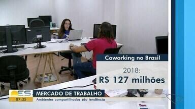 Ambientes compartilhados de trabalho, o coworking, viram tendência no Sul do ES - Há vantagens e desvantagens sobre o uso compartilhado.